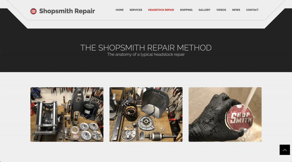 New Headstock Repair Page